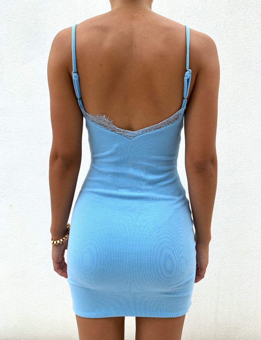 HARRI DRESS - BLUE