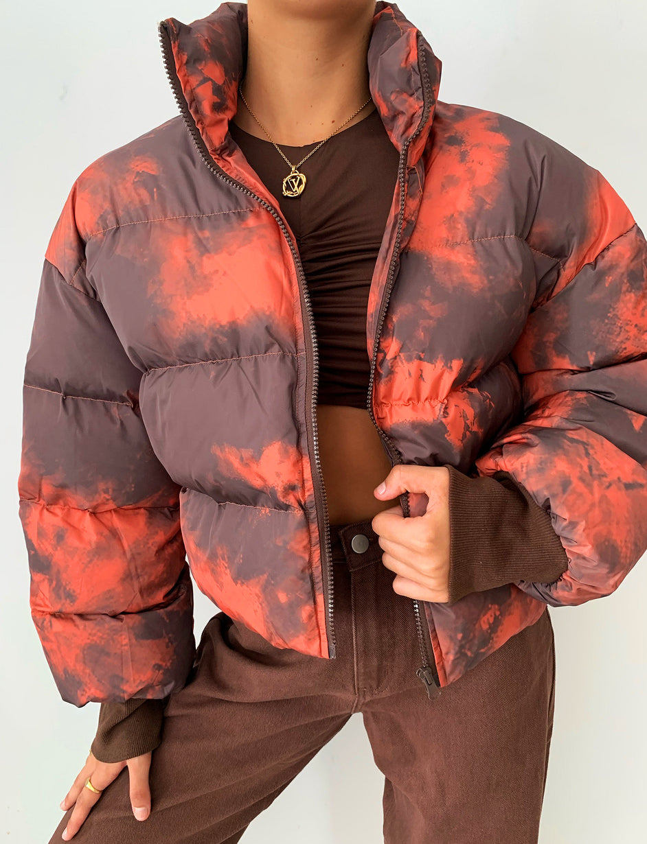 PRIYAH JACKET - ORANGE