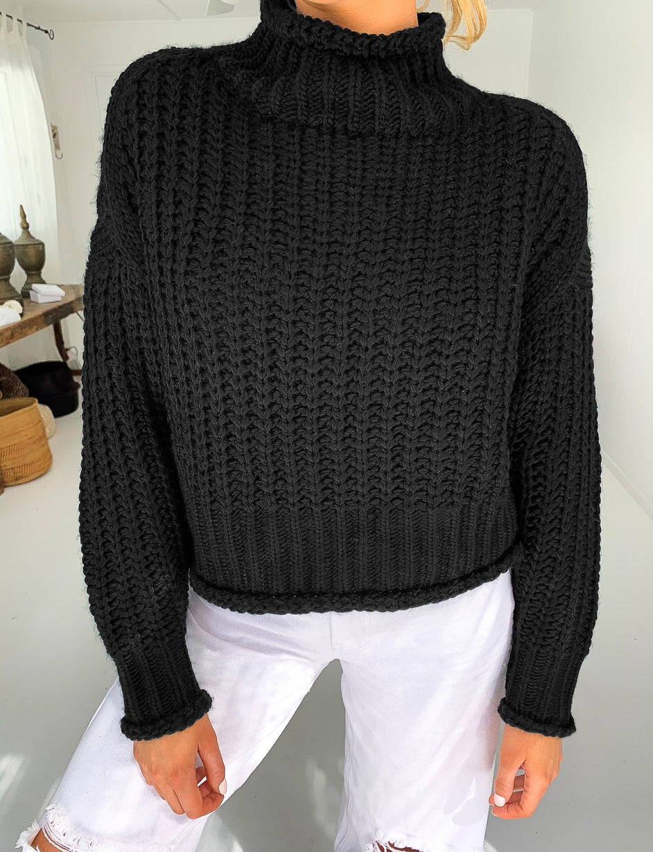Lullaby Knit - Black