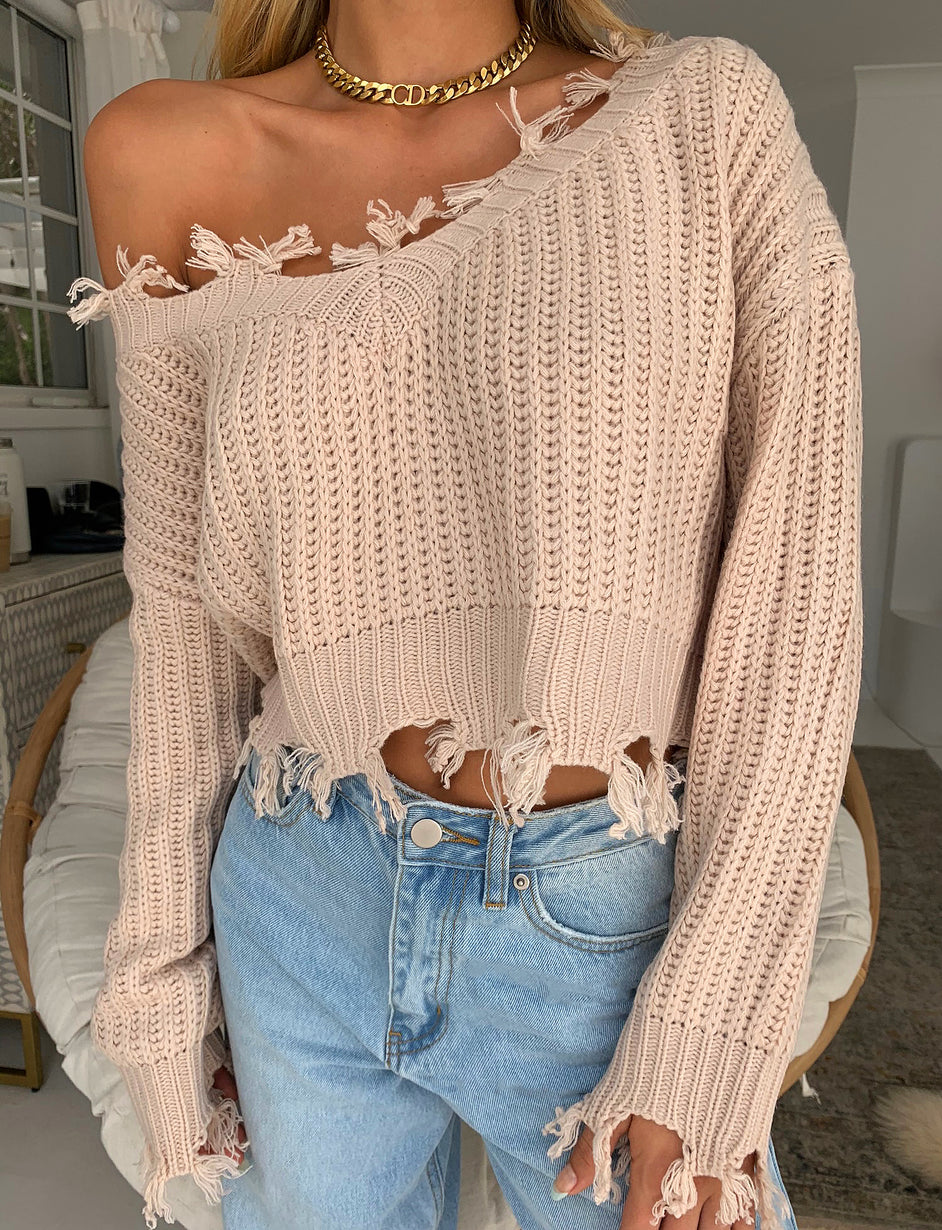 ARABELLE JUMPER - CREAM