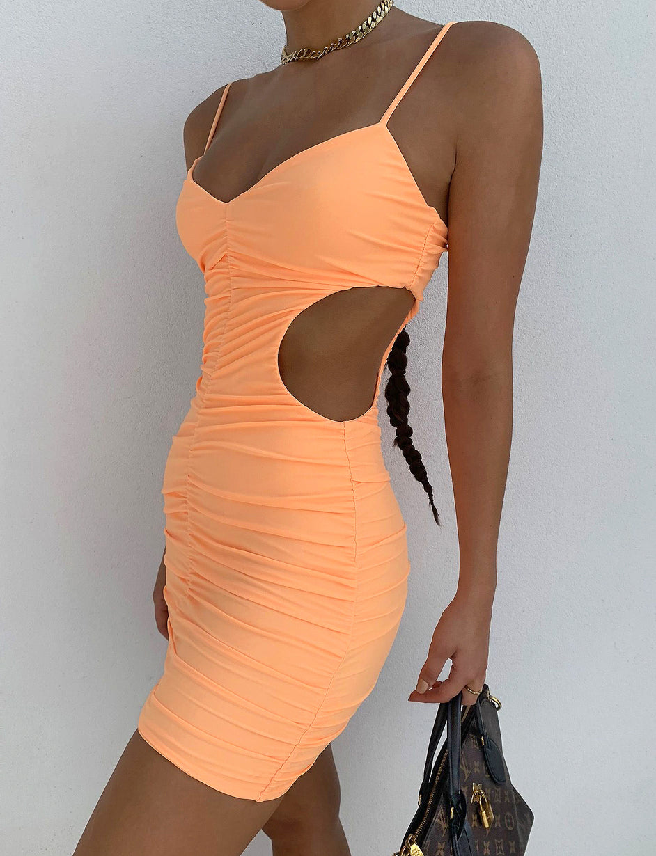 AIDA DRESS - ORANGE