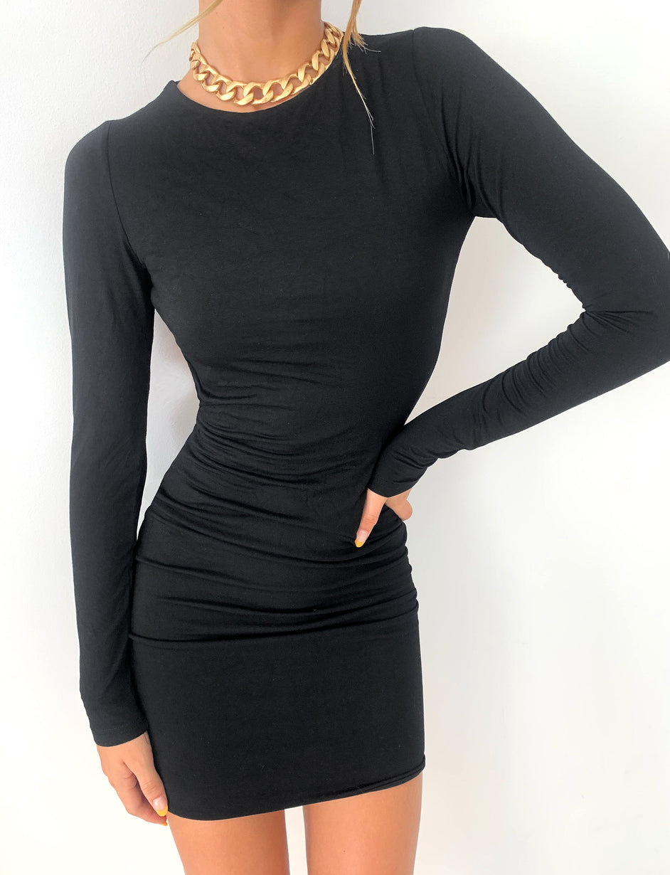 JAHMILLA DRESS - BLACK