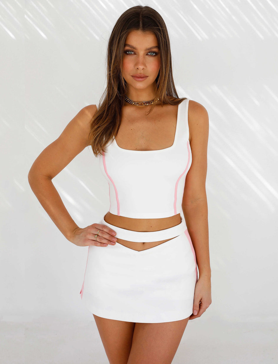 Camryn Top - White