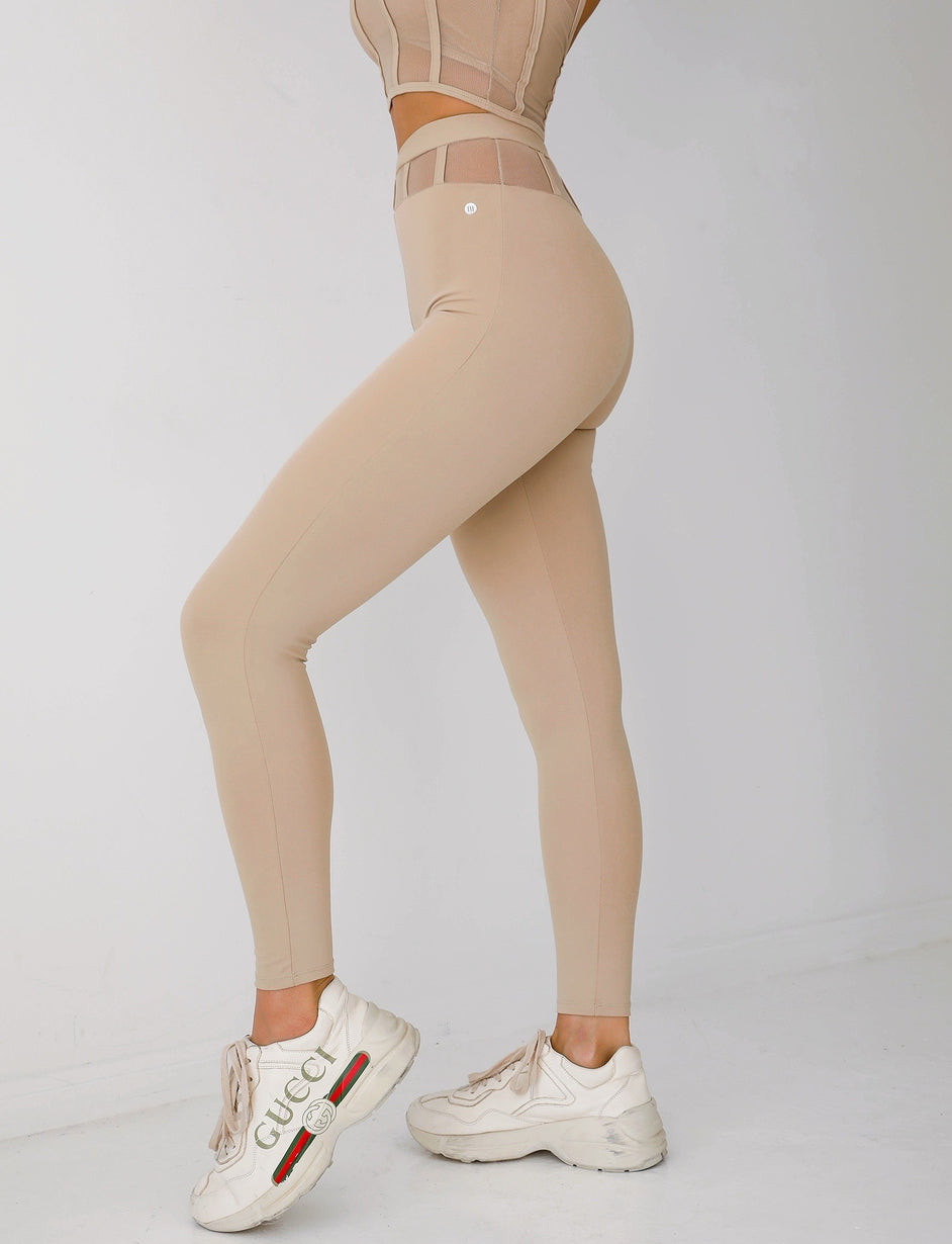CHALLENGER TIGHTS - TAN