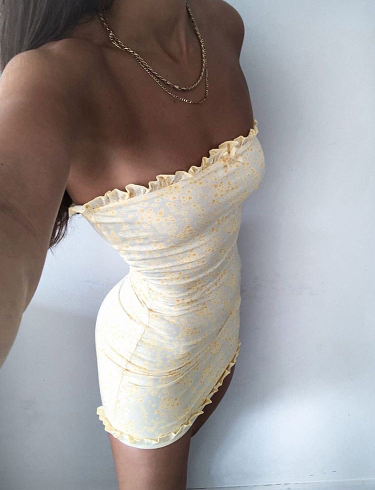 MARTINA DRESS - YELLOW