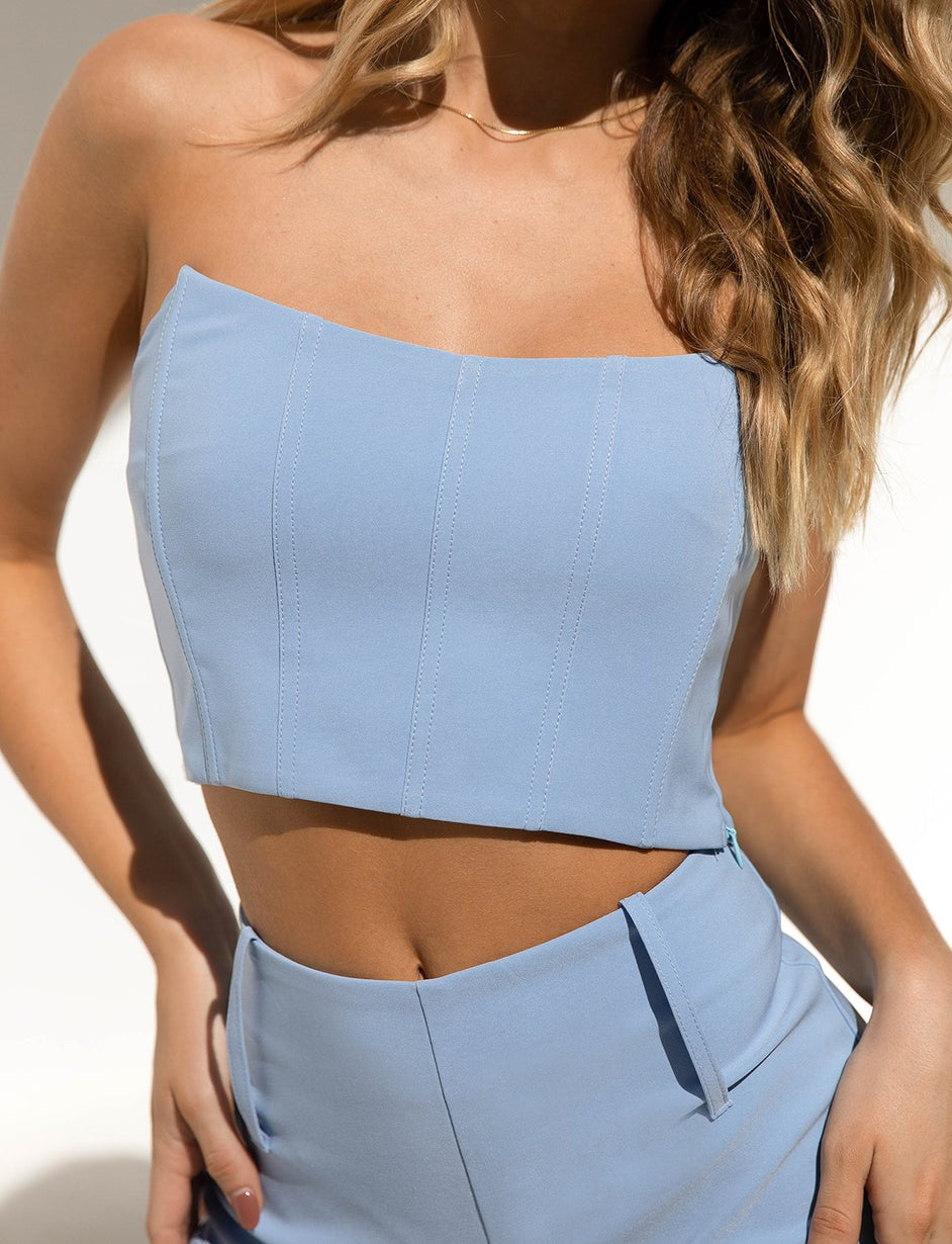 Cayenne Top - Blue