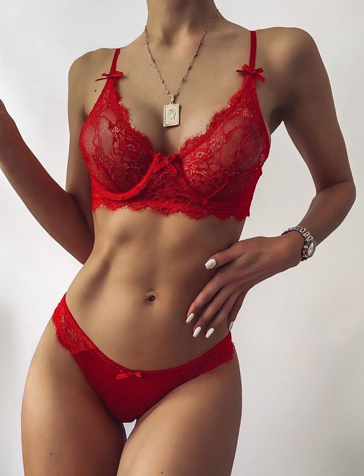 Heavenly Set - Red