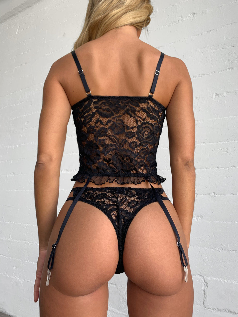 SUKI SET - BLACK