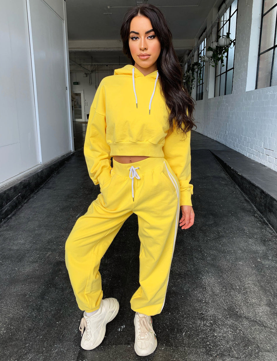 Michaela Track Pant - Yellow