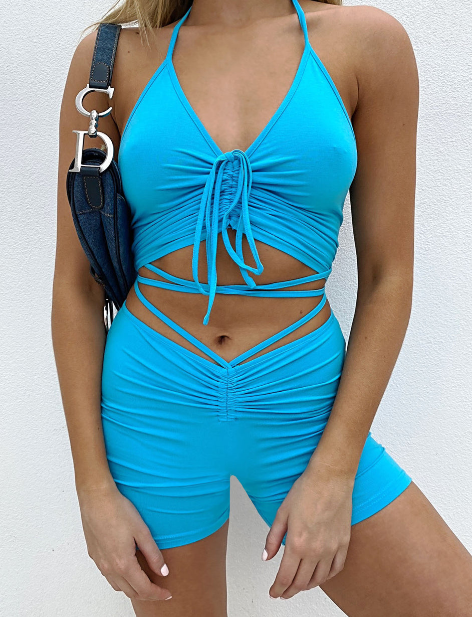 Halo Short - Blue