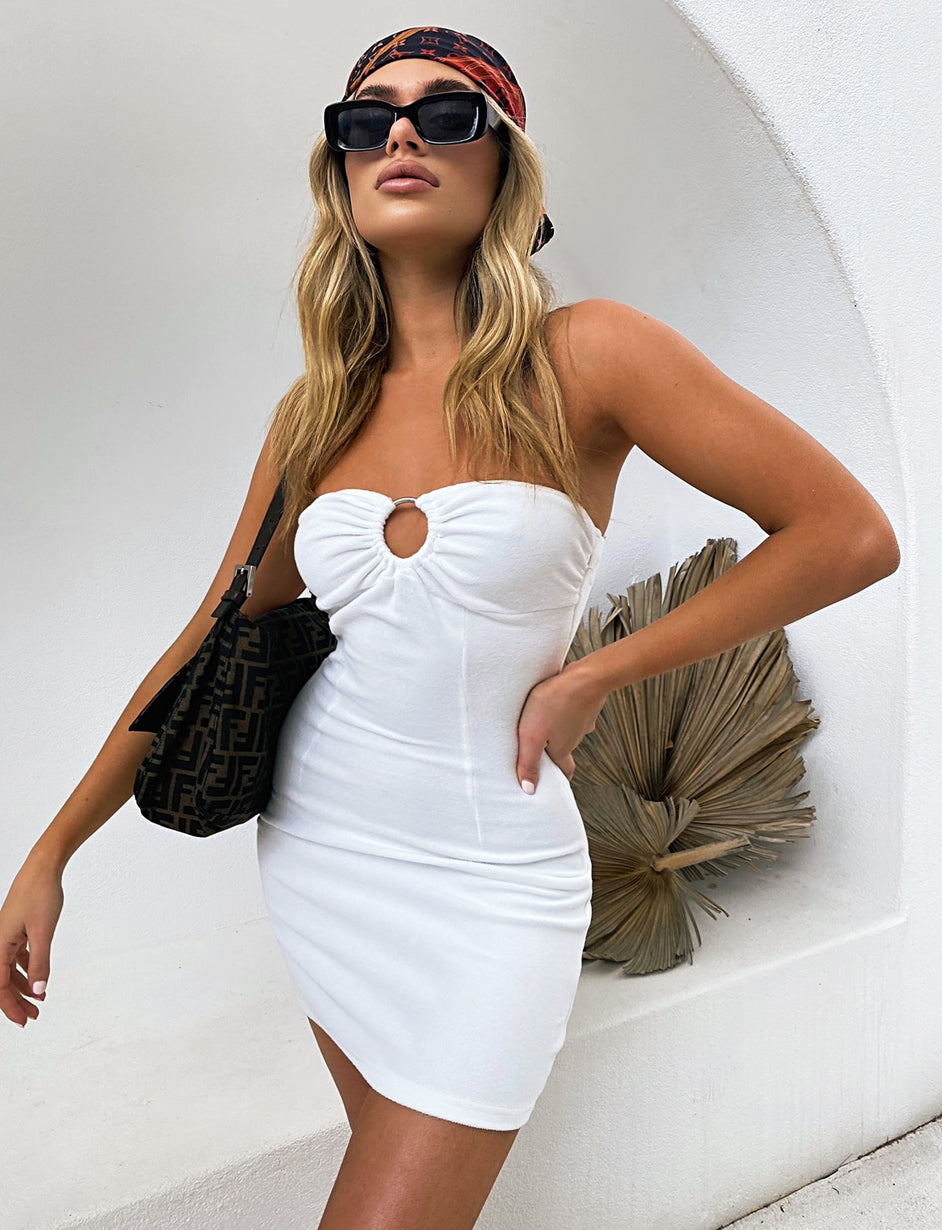 COASTAL DRESS - WHITE