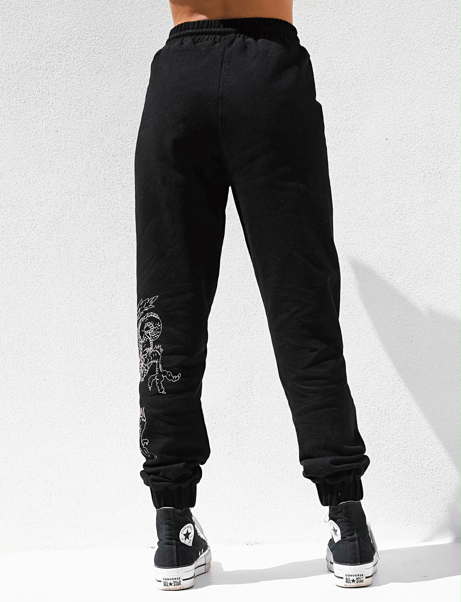 ICARUS TRACKPANT - BLACK