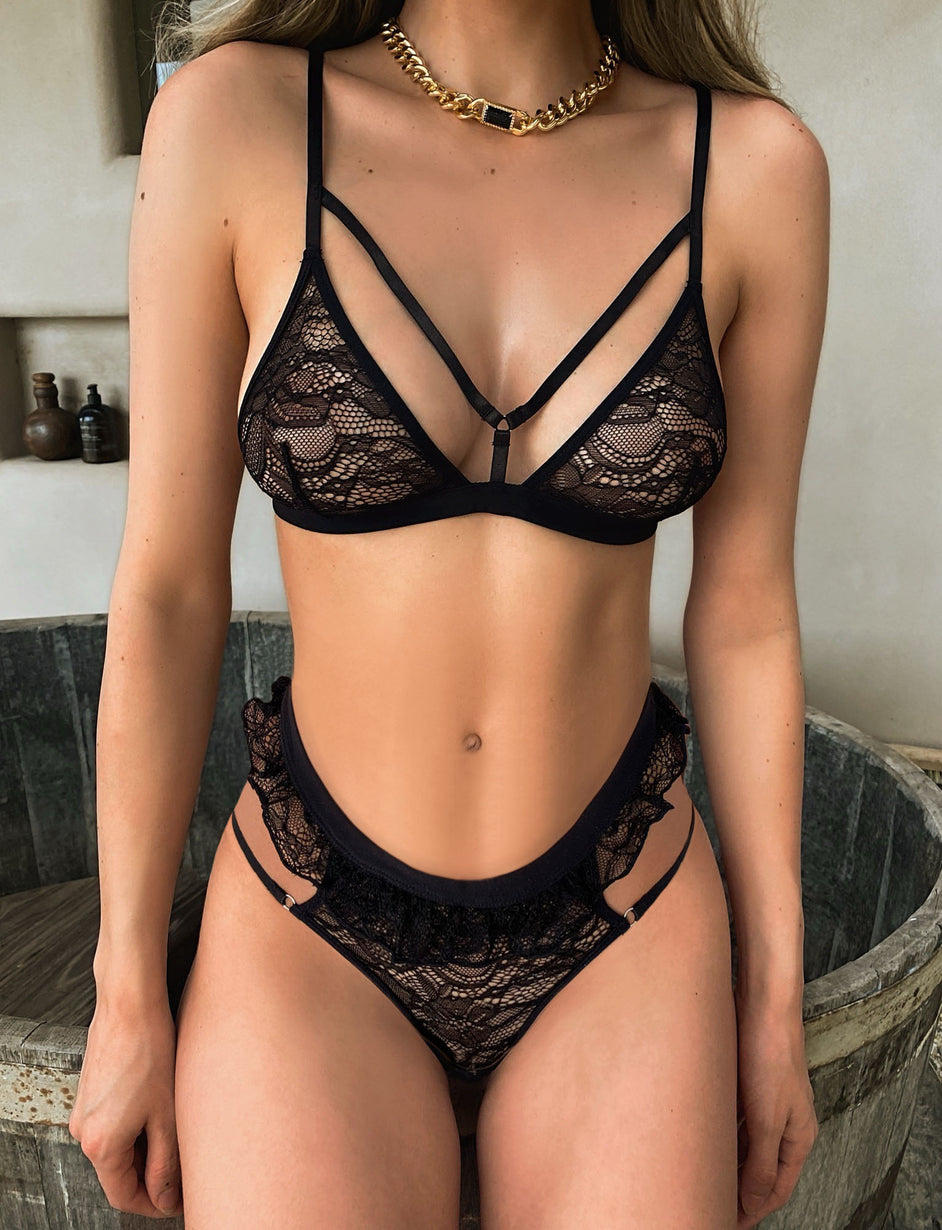 KIERA SET - BLACK