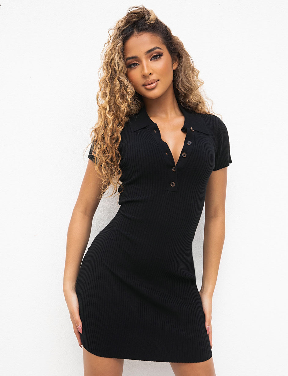 ALMA DRESS - BLACK