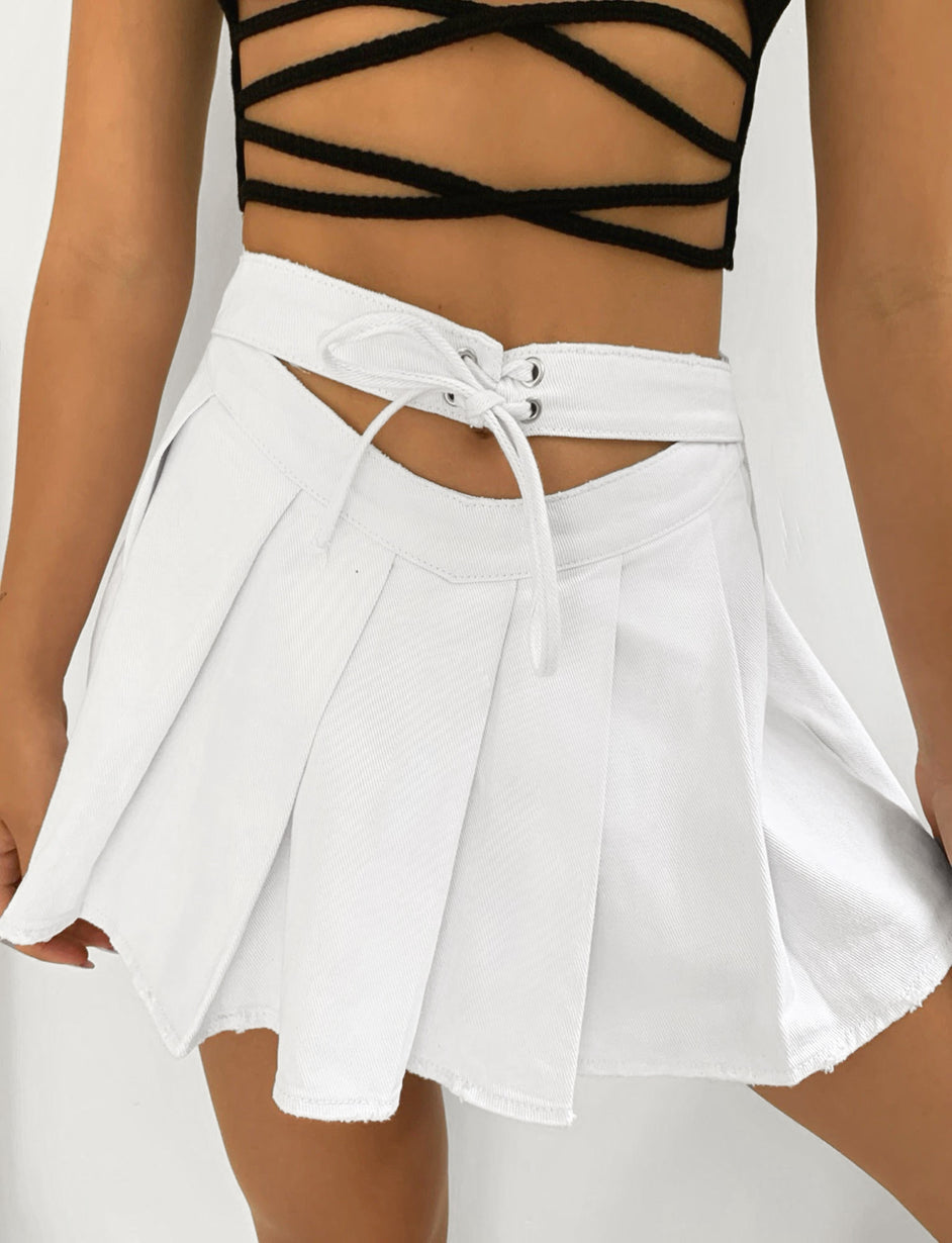 DUA SKIRT - WHITE