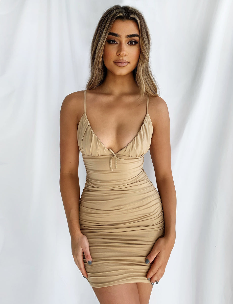 Tati Dress - Tan