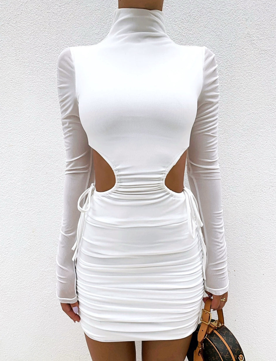 ANDEY DRESS - WHITE