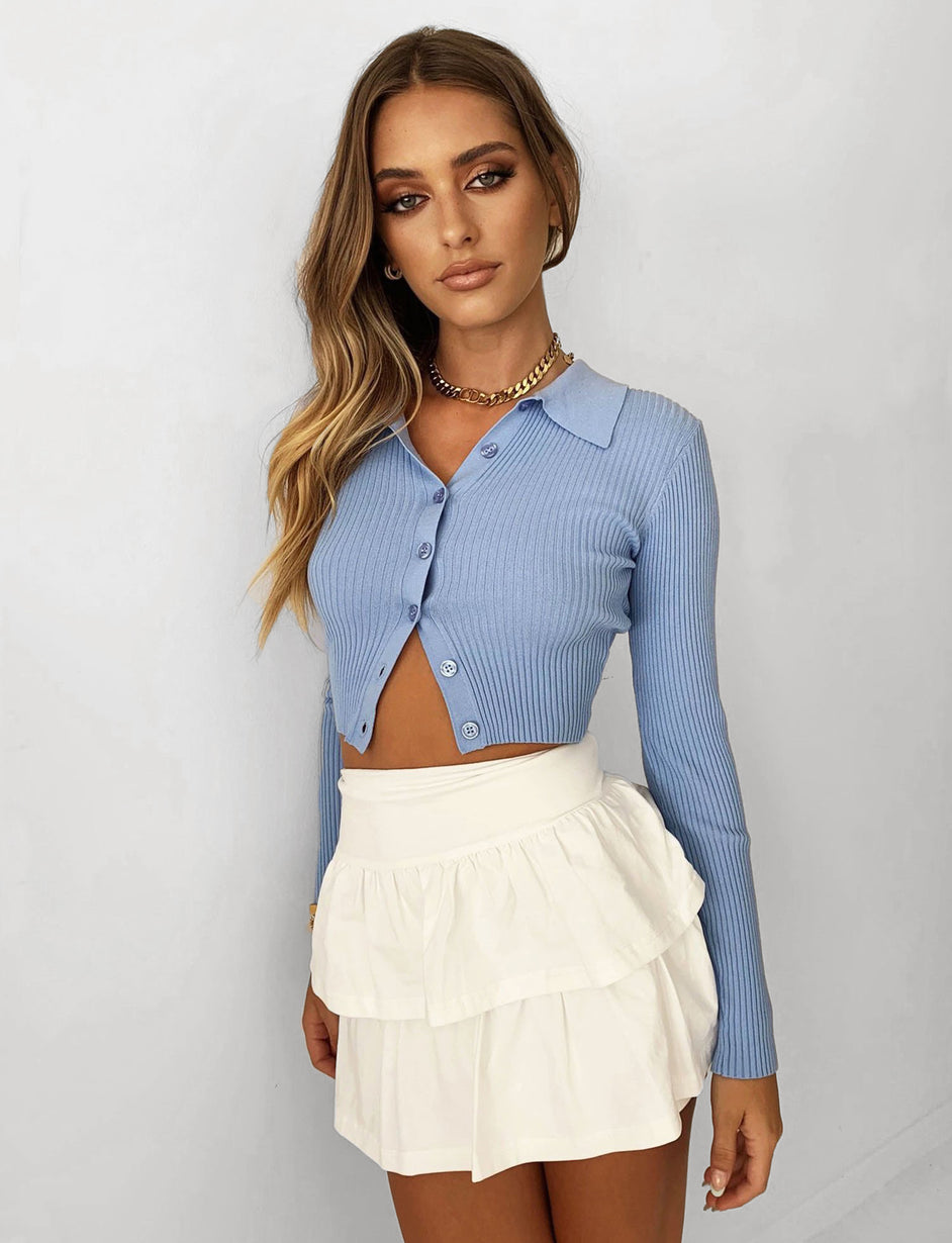 TOVA TOP - BLUE