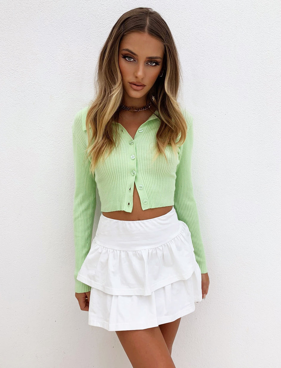 Tova Top - Lime