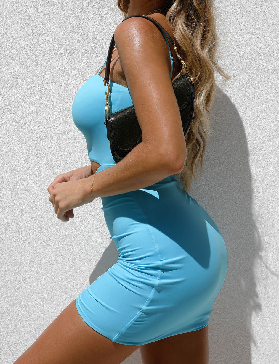 HOLLI DRESS - BLUE