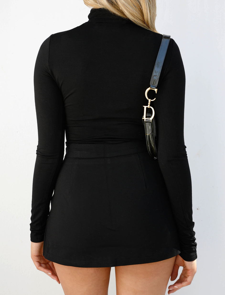 Casey Turtleneck - Black