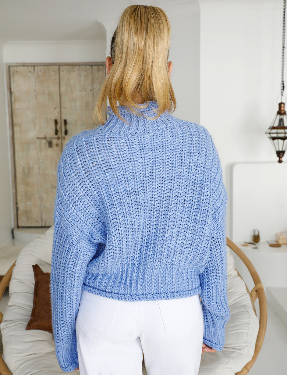 Lullaby Knit - Blue