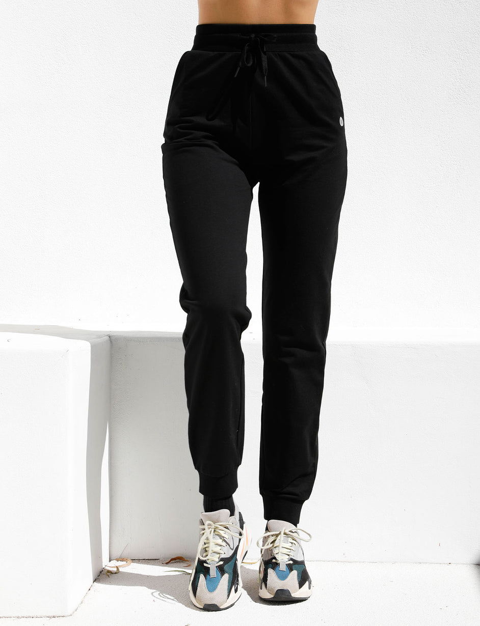 Power Trackpant - Black