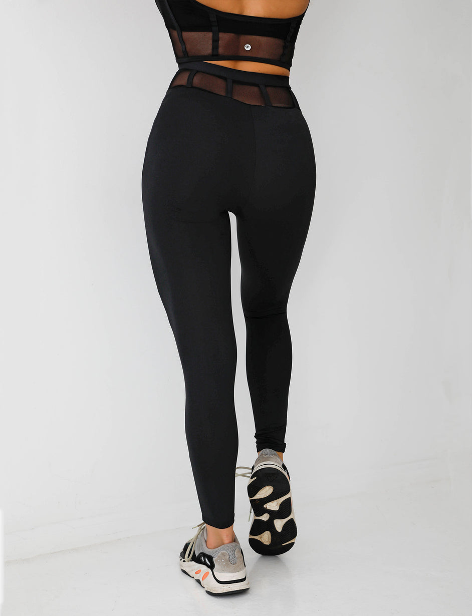 CHALLENGER TIGHTS - BLACK