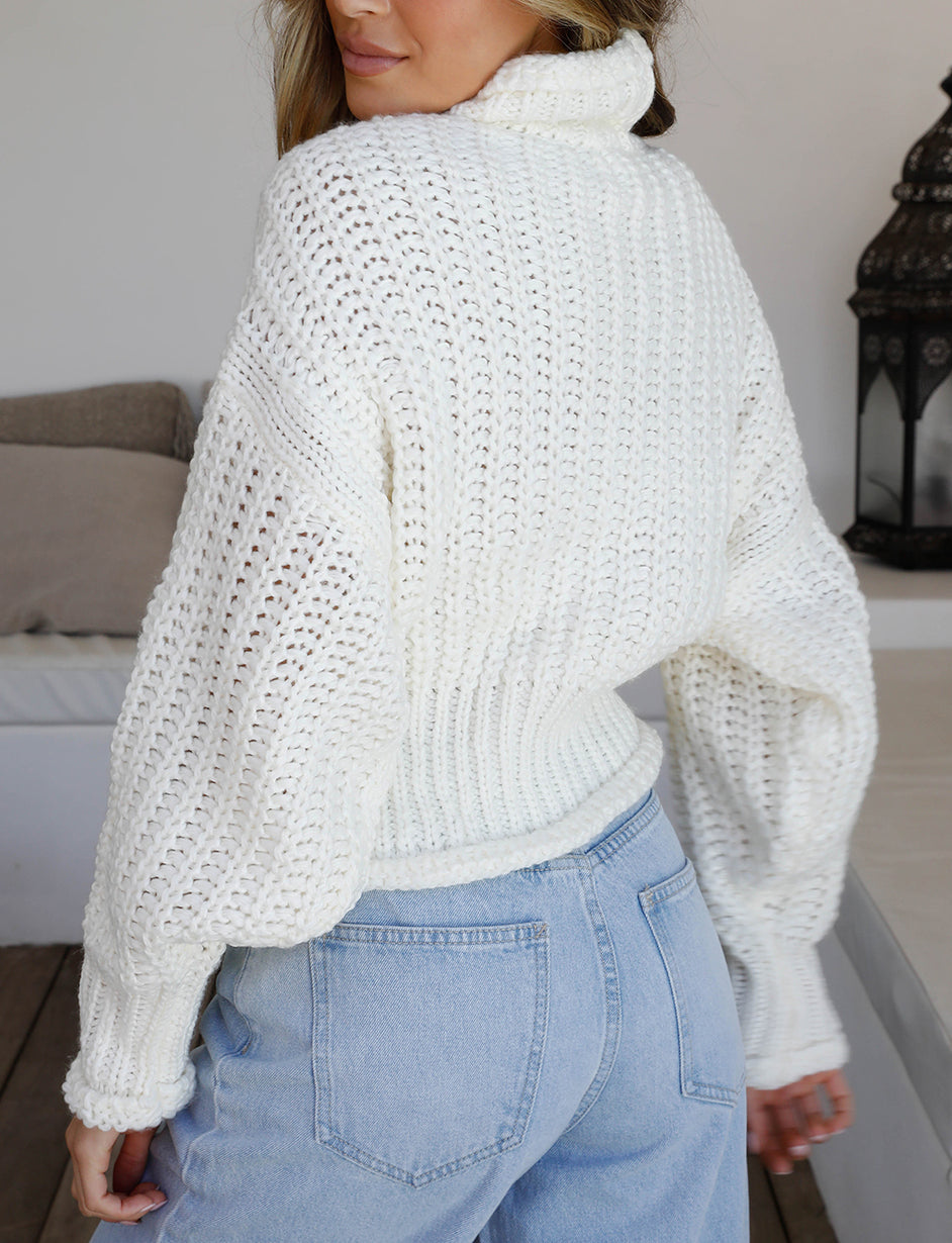 Lullaby Knit - White