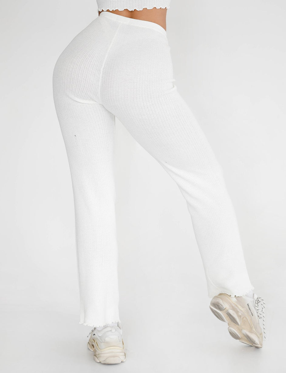 Kitty Pant - White