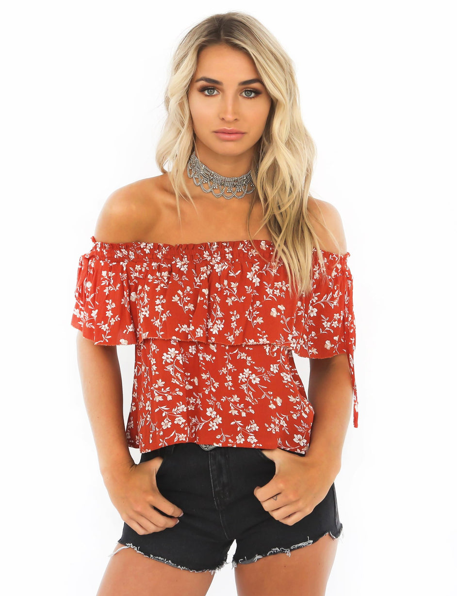 Lovables Top - Rust