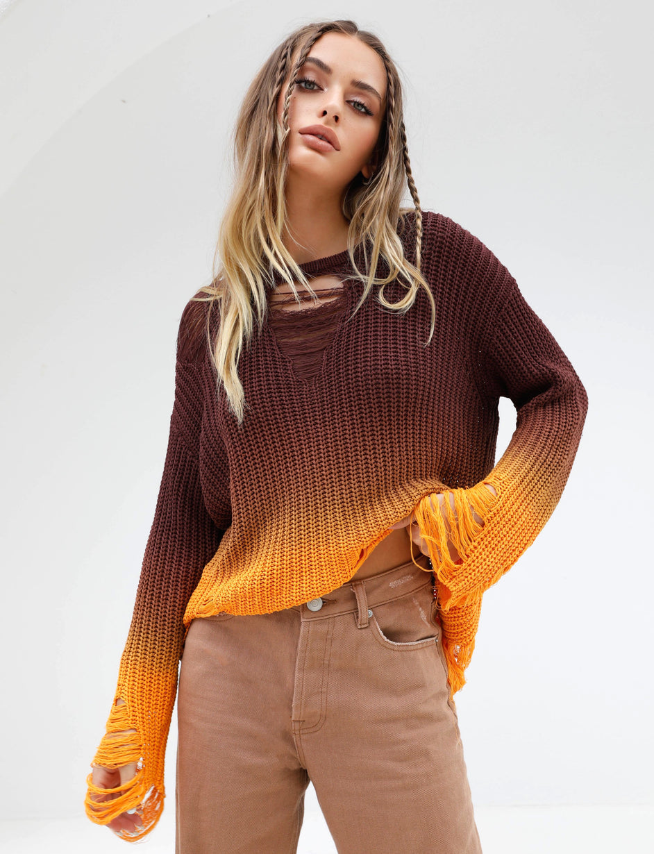 CLAUDIA KNIT - OMBRE