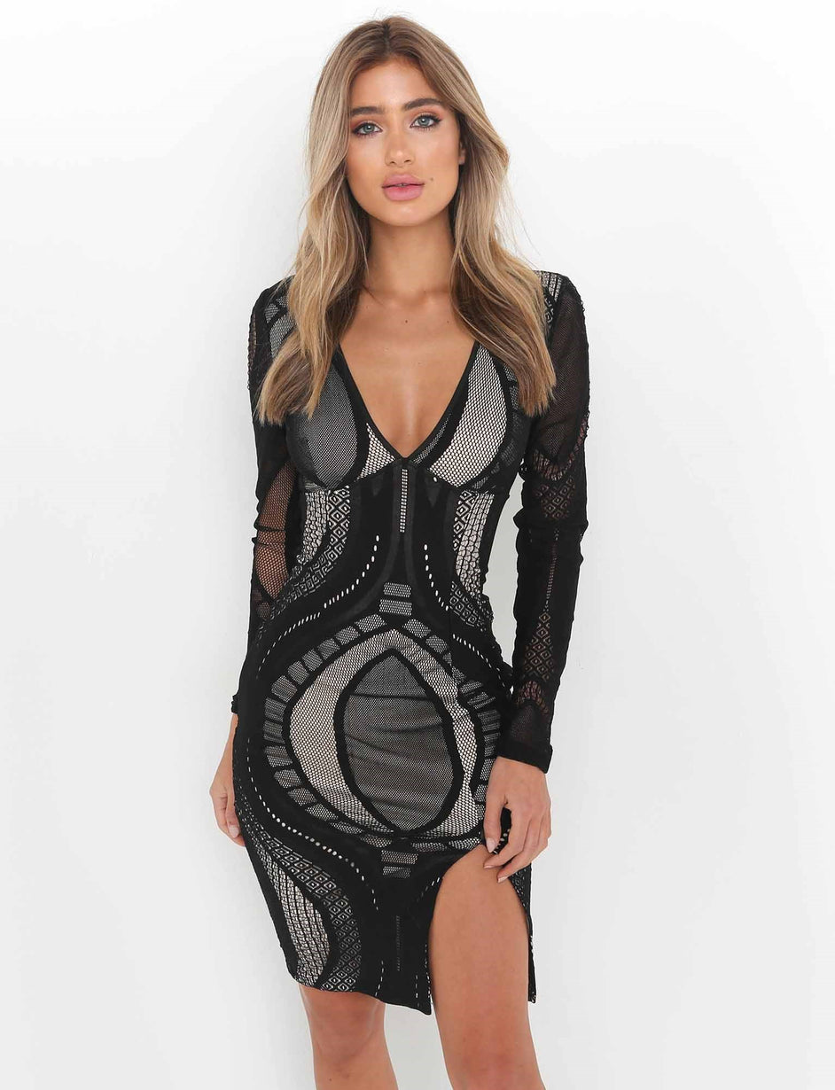 Ophelia Dress - Black