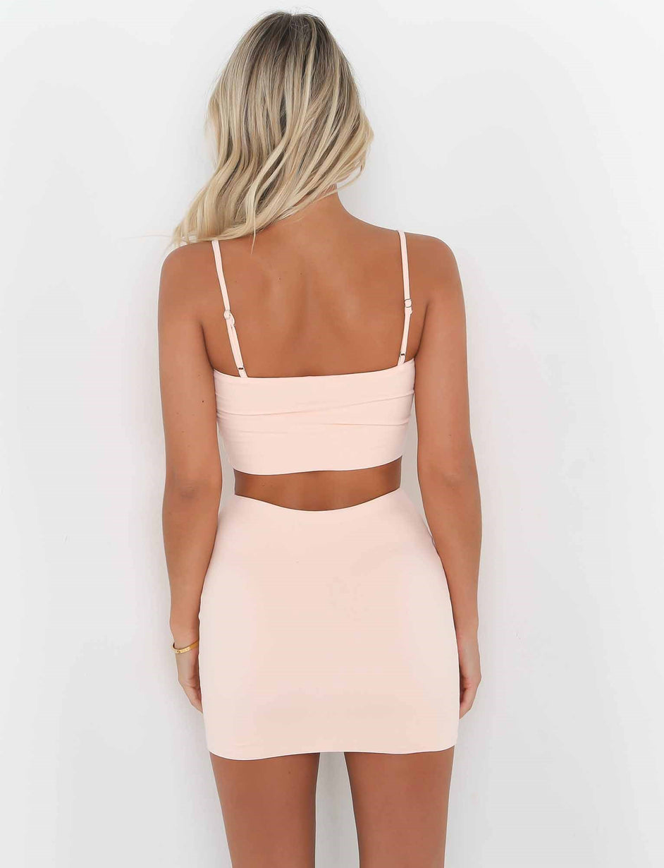 Palm Springs Crop - Pink