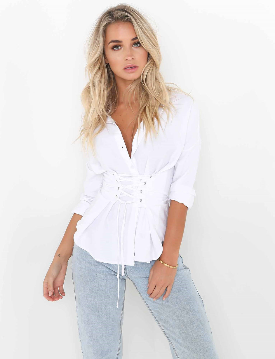 Piper Shirt - White