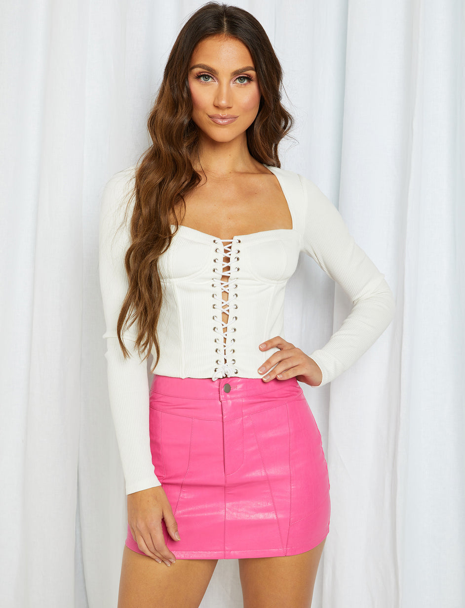 Portia Top - White