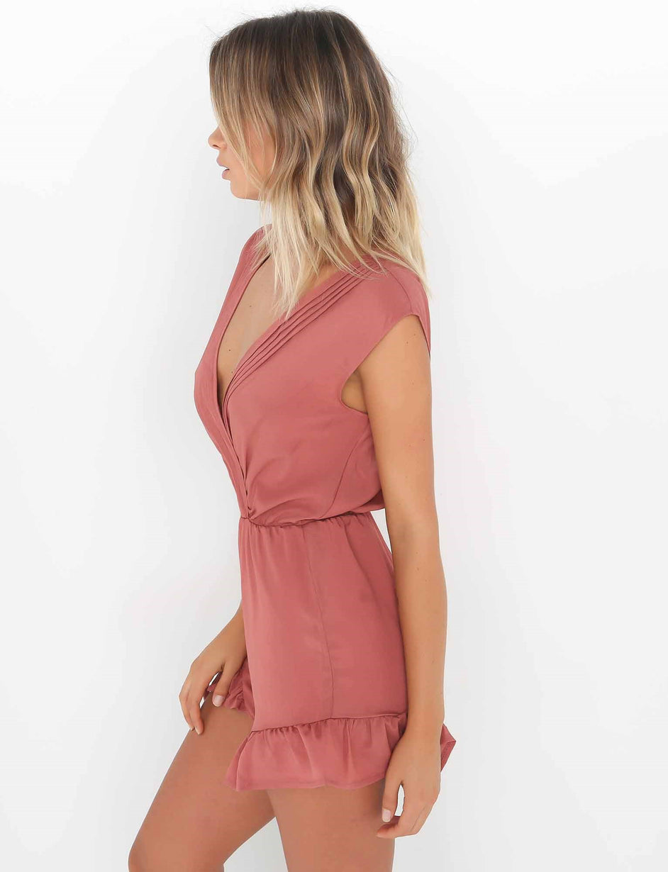 Sweet Playsuit - Rose