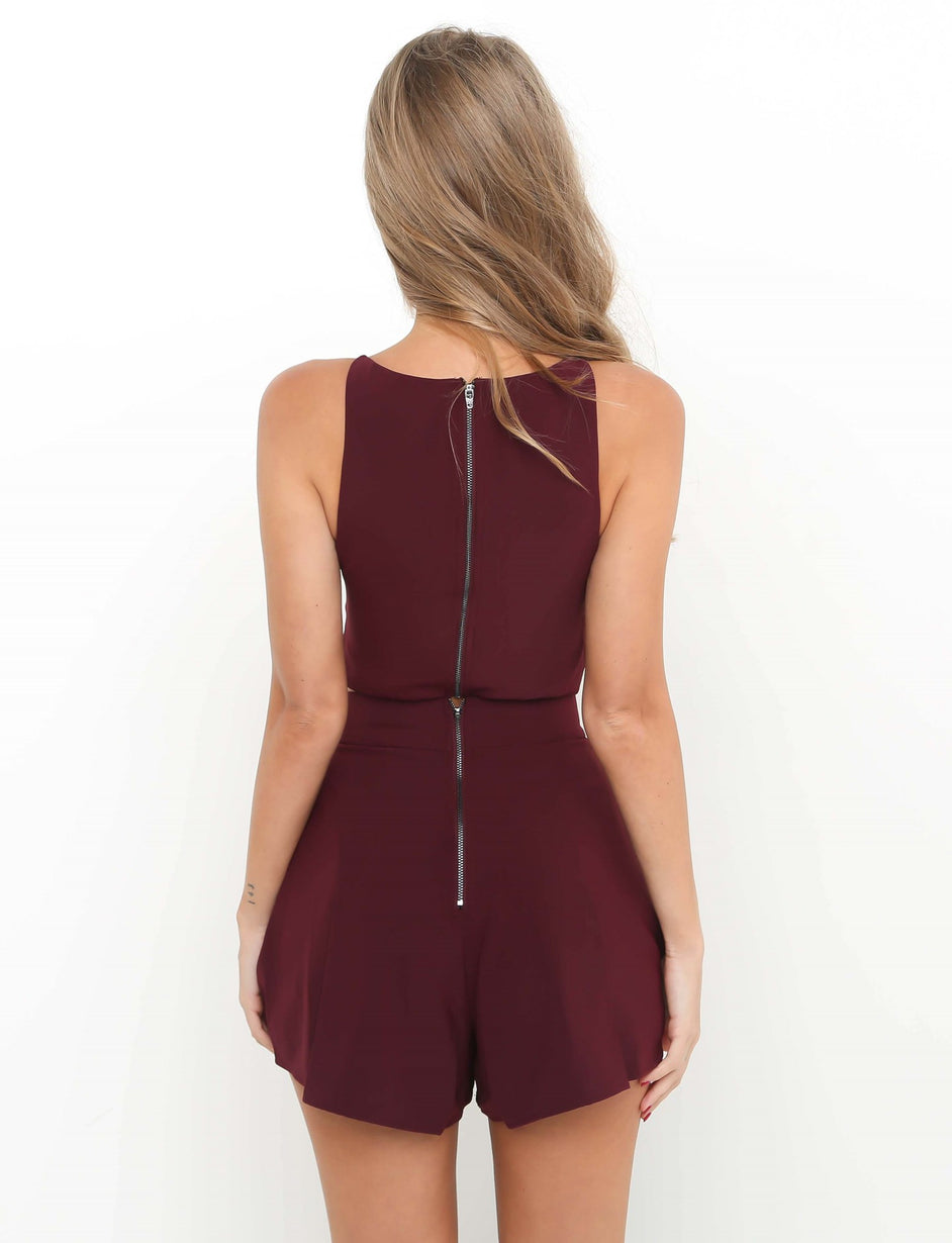 Pure Truth Crop - Plum