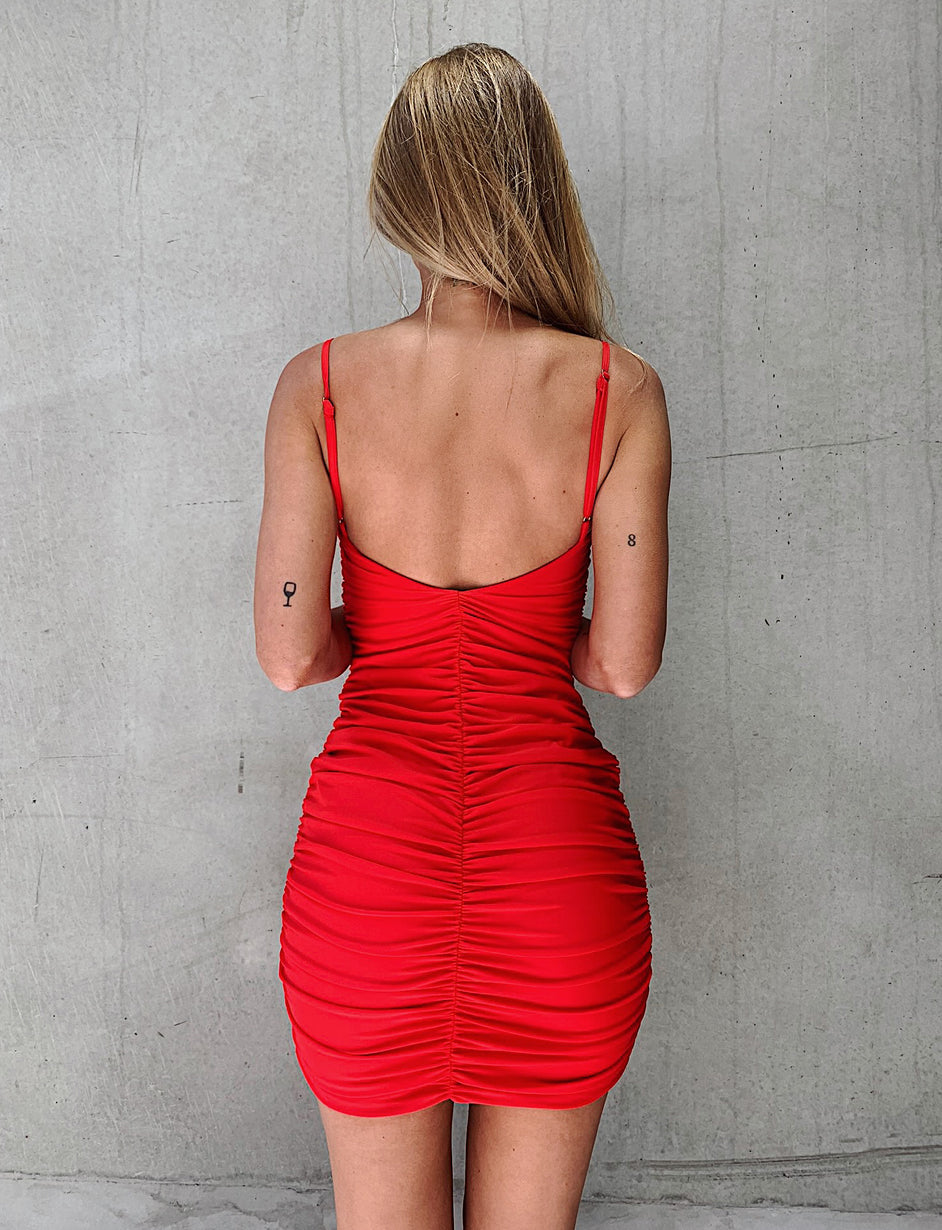 Zion Dress - Red