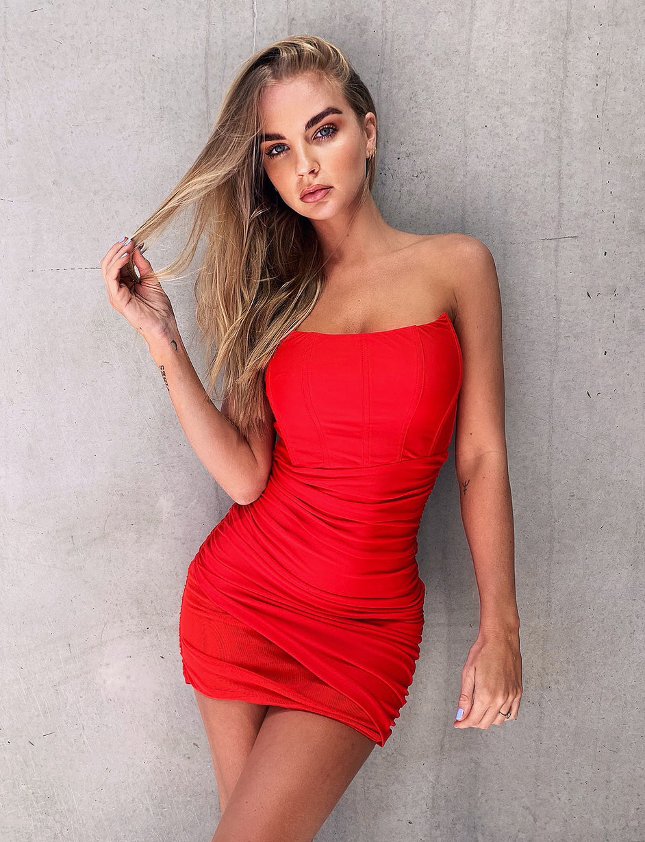 Cayenne Dress - Red