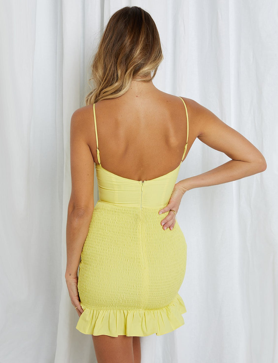 Nixie Dress - Yellow