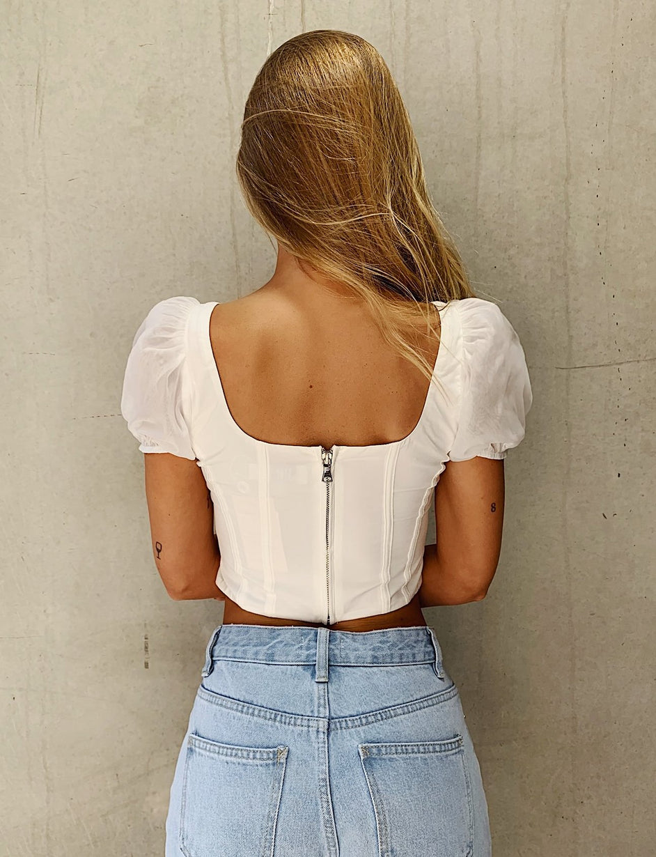 Shay Top - White