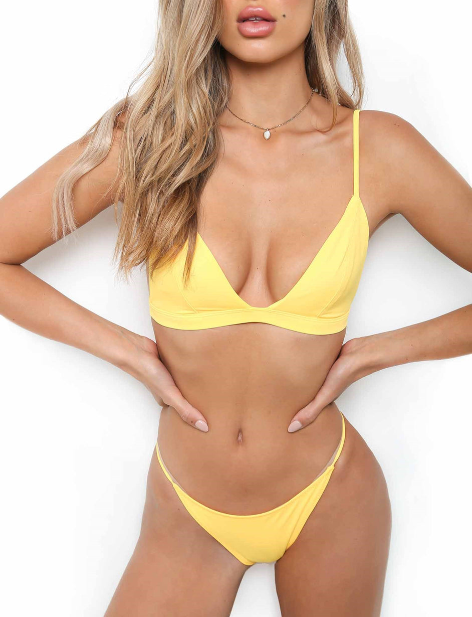 Santorini Bottoms - Yellow