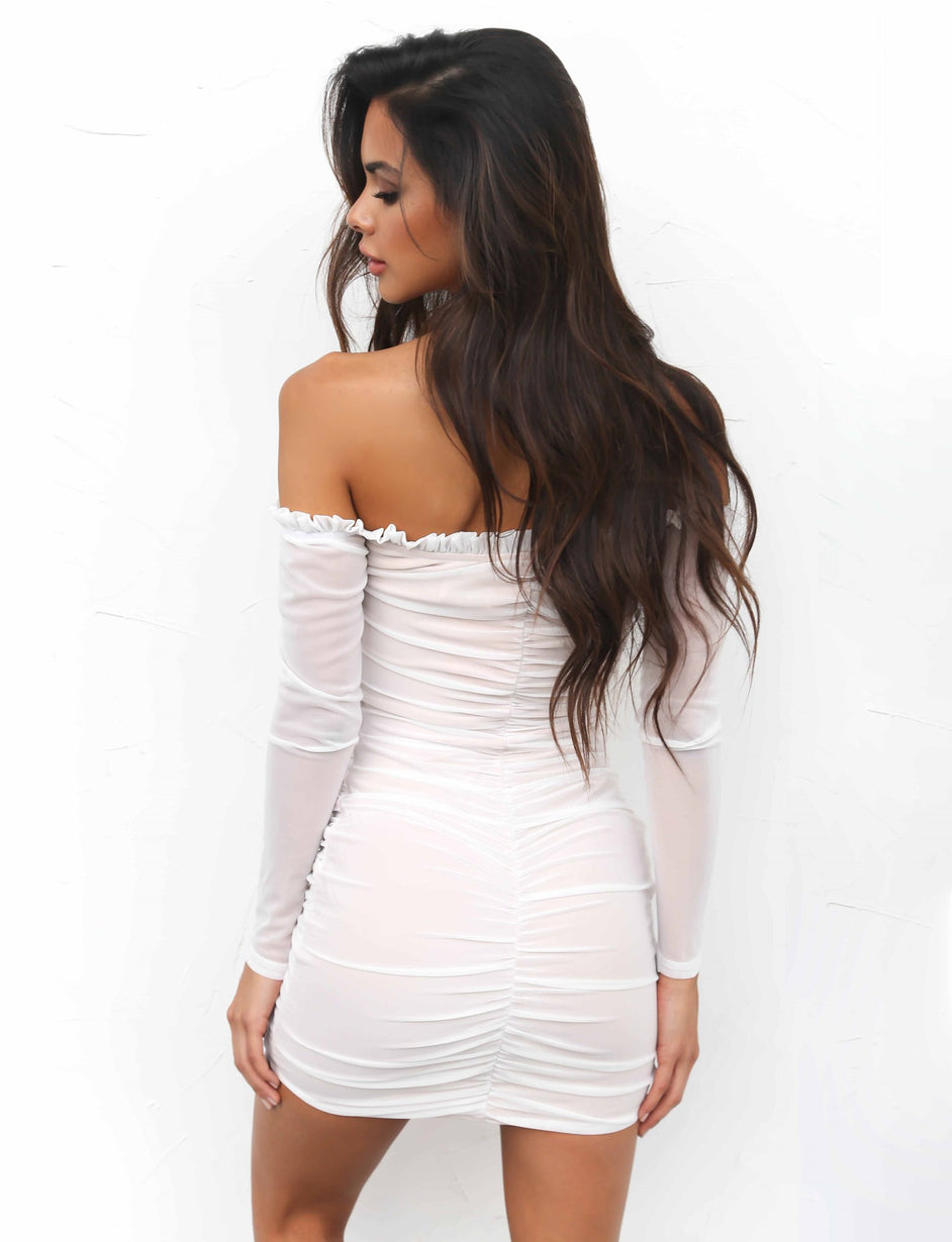 Baldwin Dress - White