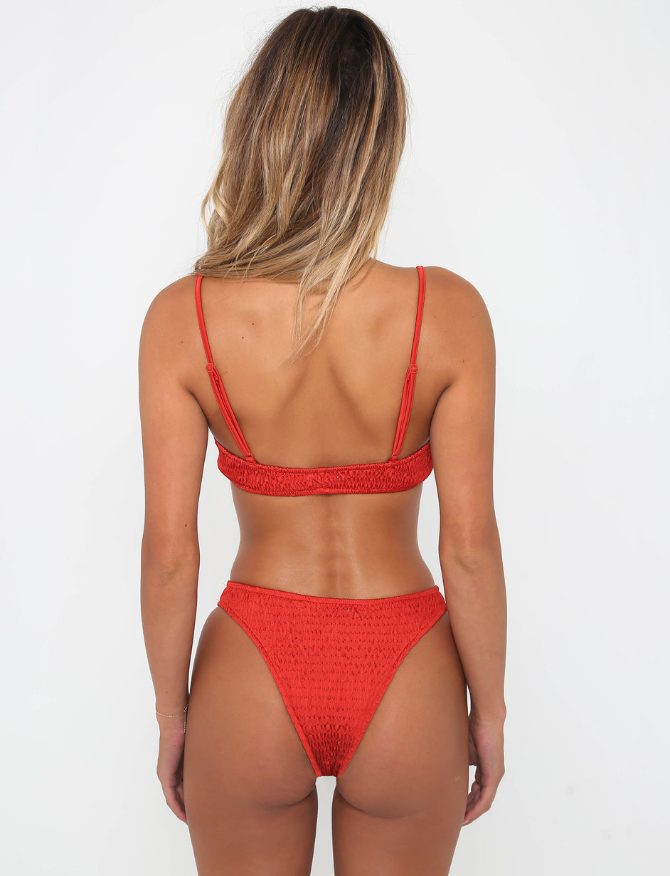 Thrills Bikini  - Red