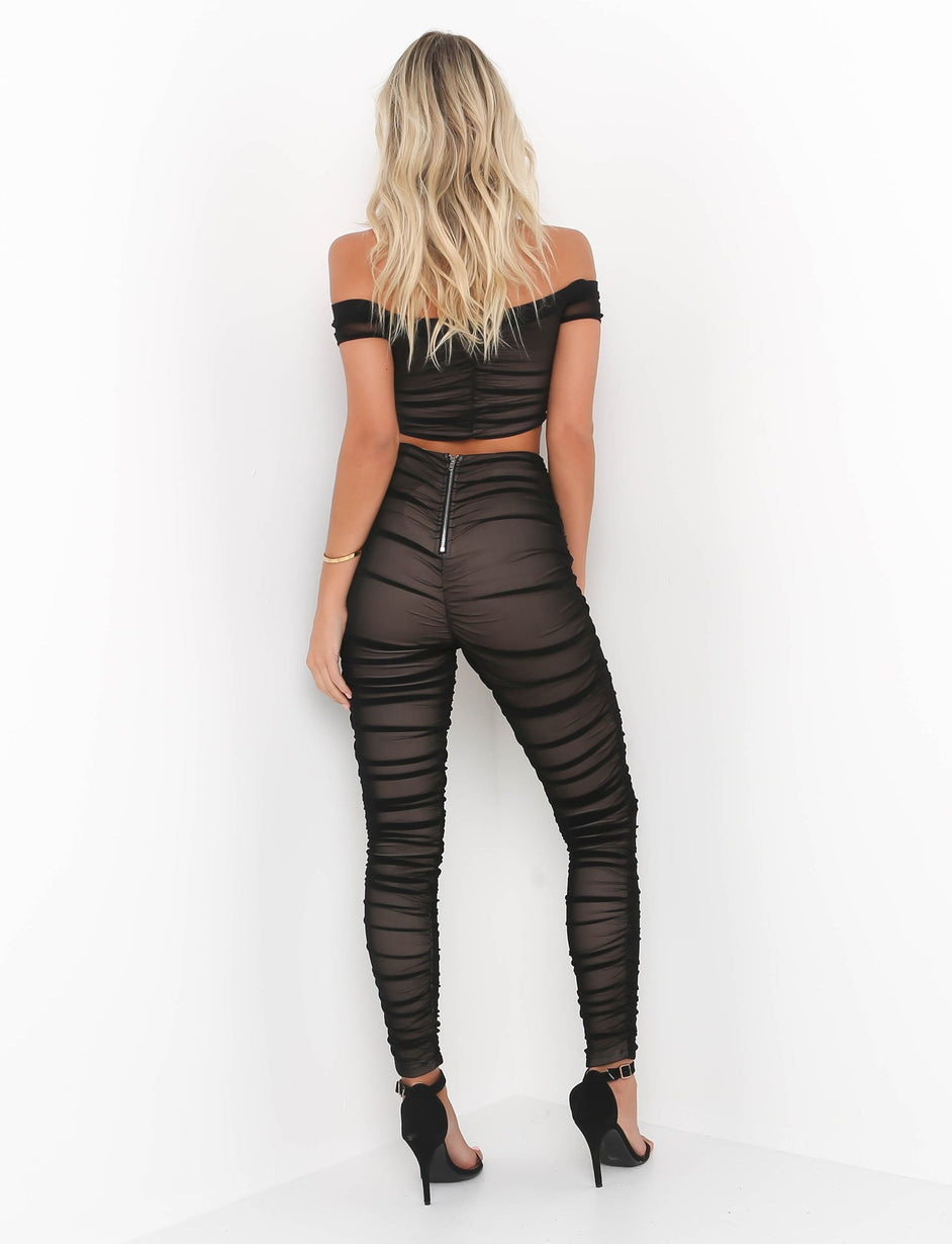 Rush Hour Pant - Black