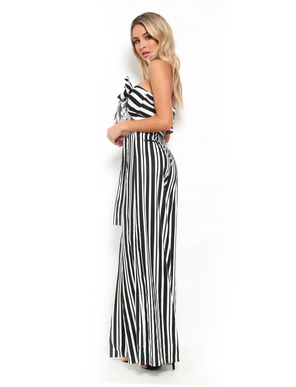 Cloud Nine Pant - Black Stripe