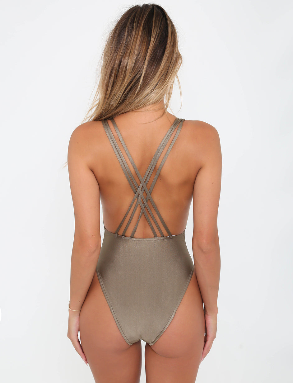 Thrills One piece  - Khaki