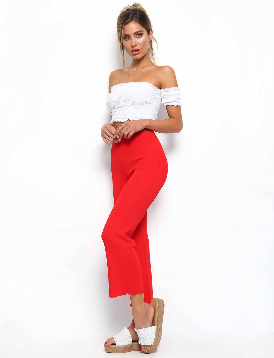 Ruby Pant - Red