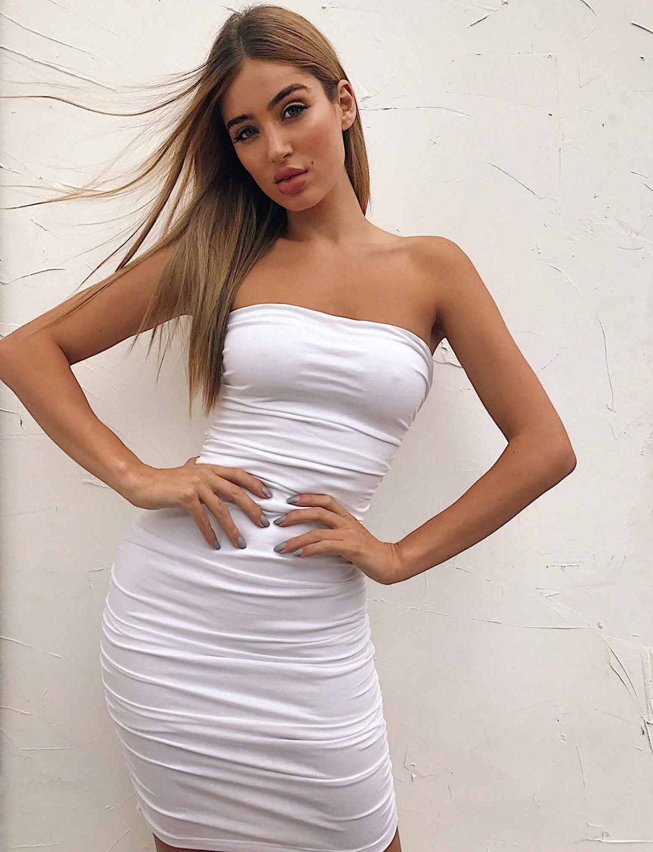 Kimmy Dress - White